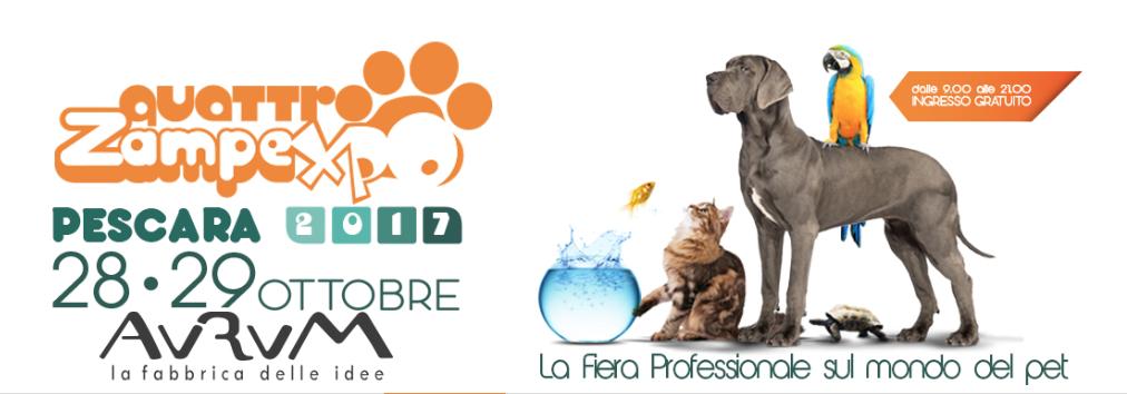 Dottor Fox al Quattrozampexpo Pescara